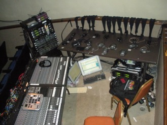 Old sound booth