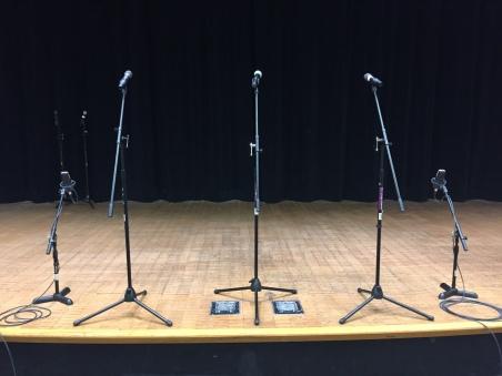 a cappella setup